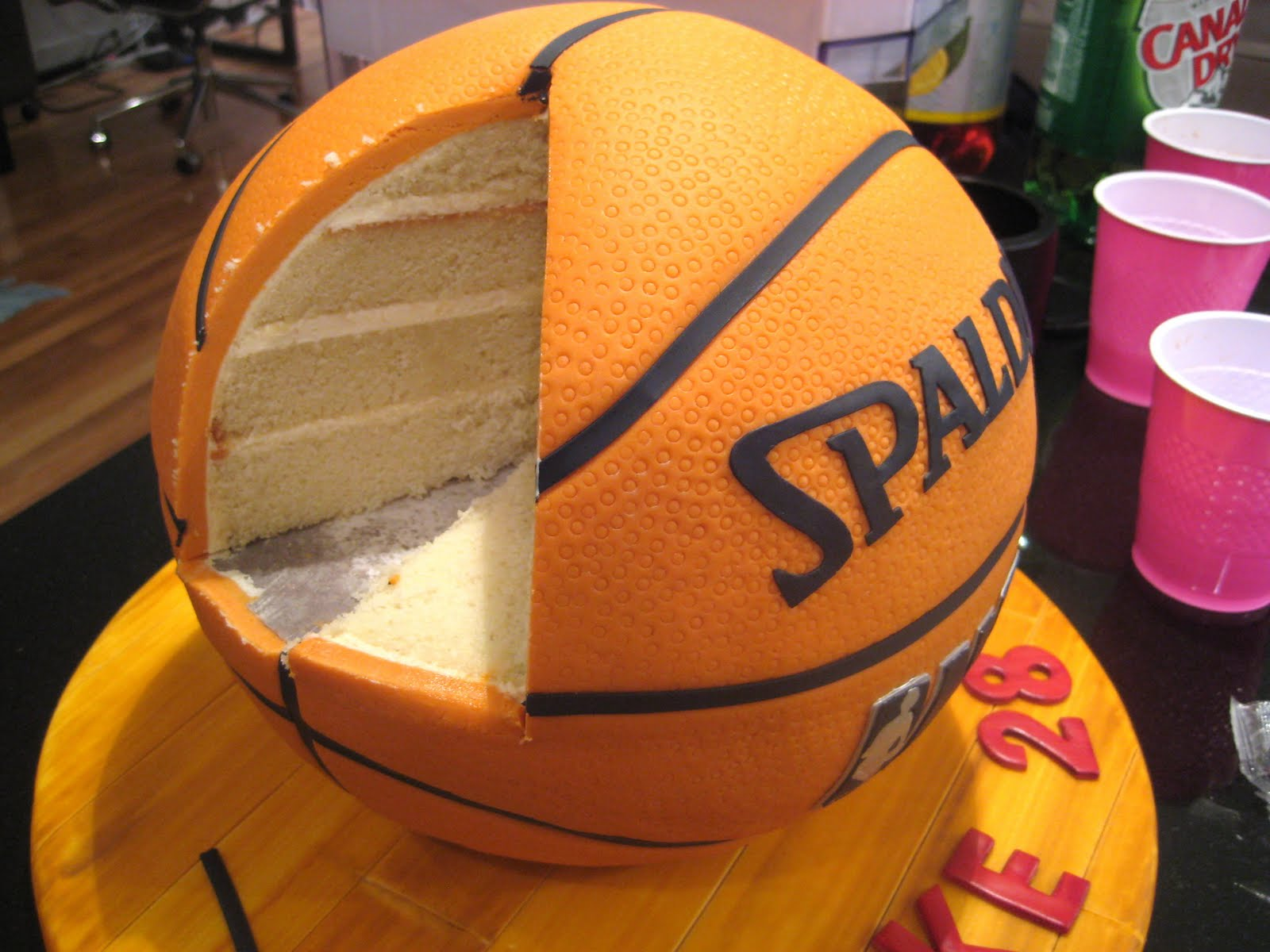 Cake Images Basketball : Perusing Pinterest: March Madness Treats and Ideas ...